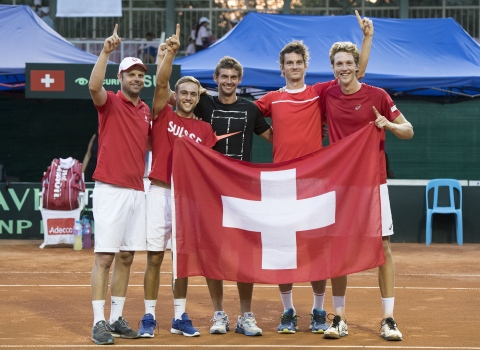 Securitas Swiss Davis Cup Team