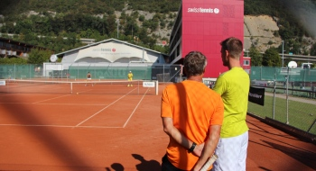 Peter Frey Headcoach Swiss Tennis Academy